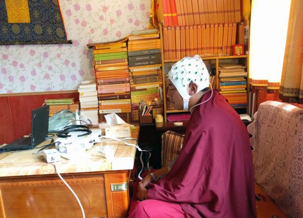 La meditación budista tibetana modula la conexión cerebro - corazón